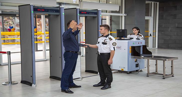 AVM güvenlik hizmeti