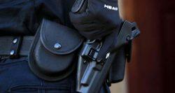 Silahlı güvenlik görevlileri
